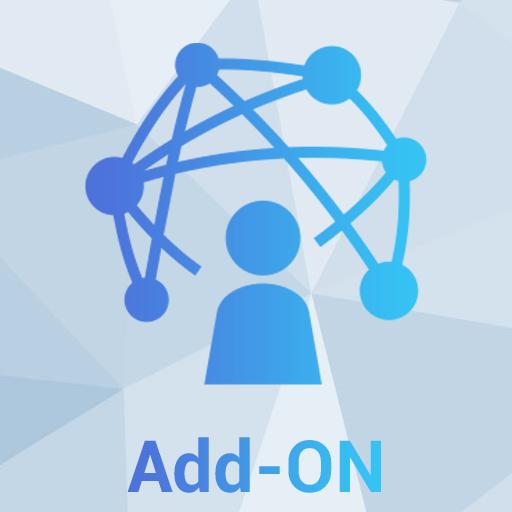 Fast Networks - Professional Add-ON Icona - Servizi di telecomunicazioni, connettività internet e telefonia (fonia) per le aziende