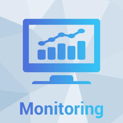 Fast Networks - Monitoraggio proattivo Icona - Servizi di telecomunicazioni, connettività internet e telefonia (fonia) per le aziende