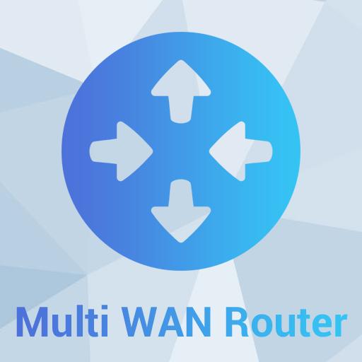 Fast Networks - Multi WAN router aggregazione di banda Icona - Servizi di telecomunicazioni, connettività internet e telefonia (fonia) per le aziende
