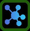 Fast Networks - Unica, connessione di rete e telefonia (fonia) VoIP Icona - Servizi di telecomunicazioni, connettività internet e telefonia (fonia) per le aziende
